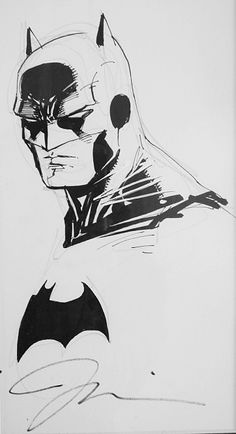 Batman sketch | Jim Lee   #BATMAN