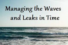 Managing the Waves and Leaks in Time – The Stress Management Place