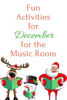Music a la Abbott - Amy Abbott - Kodály Inspired Blog and Teachers Music Education Resource: Fun Activities for December in the Music Room