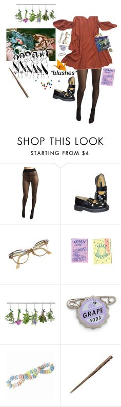 """""""Joey"""" by walking-in-circles ❤ liked on Polyvore featuring Wolford, T.U.K. and Retrò"""