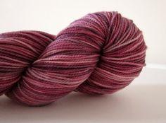 $20 Sock Yarn Hand dyed Superwash Merino/Nylon - Marry Me