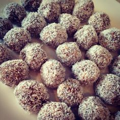 Thermomix - protein balls - healthy snack - food - fitness - yum - delicious - made by Cara Thiele, Thermomix Consultant, Australia