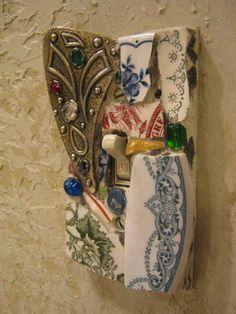 Mosaic Light Switchplate