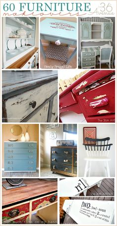 60 Furniture Makeovers at The 36th Avenue.com - 31 to 41
