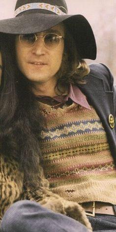 john lennon (1973)  Love this shot of John.