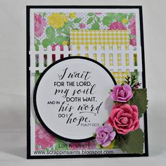 Papercrafts by SaintsRule! - Word Art Wednesday, ODBD Dies - Flourished Star Pattern Die, Fence Die, Double Stitched Rectangles Die, Pretty Posies Die, Double Stitched Circles Die, Matting Circles Die