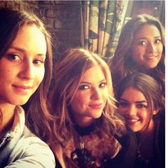 Troian ,Ashley,Lucy and Shay