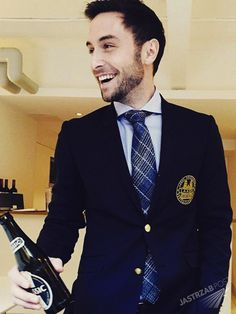 Mans Zelmerlow ..he's so cute and funny ❤