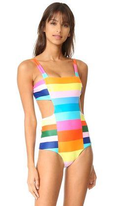 221f9e0f060f1 Mara Hoffman Cutout Side Swimsuit