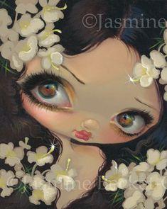 Poisonous Beauties VII: Hemlock - Strangeling: The Art of Jasmine Becket-Griffith Mini Me, Gothic Artwork, Pop Surrealism, Fairy Art, Faeries, Beautiful Creatures, Fantasy Art, Fantasy Fairies, Pop Art