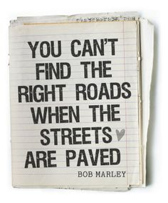 You can't find the right roads.....