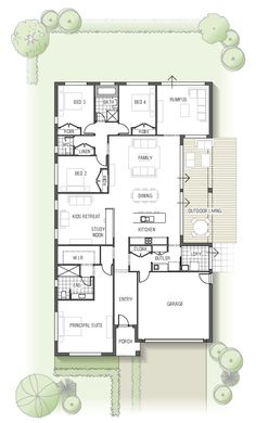 floor plan - Olearia 1532 N01, From the Arise Collection