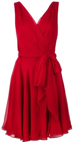 Ruched Wrap Around Dress, Ralf Lauren