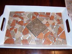 Weekend Project: Mosaic Tray