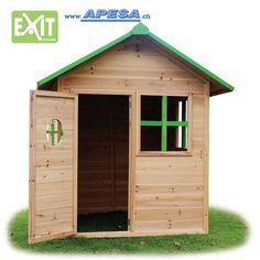 Exit Spielhaus Loft 100 von APESA Lofts, The 100, Shed, Outdoor Structures, Kids, Gardens, Products, Wooden Playhouse, Games