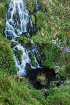 Trotternish Waterfall, Scotland