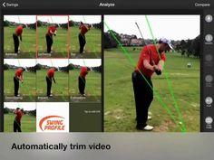 Swing Profile brings you the world's first Golf Swing Analyzer Software that makes Golf Training Aid sequences automatically on your mobile device.  This App is a very simple and user-friendly Golf Swing Analyzer Software and Training Aid. Our Application is completely Handsfree and automatic. Golf Swing Analyzer, Golf Training, Software, Profile, App, Simple, User Profile, Apps