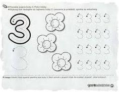 Znalezione obrazy dla zapytania cyfra 3 kolorowanka