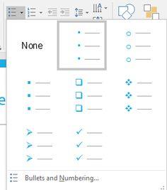 Change #Bullet Styles in #PowerPoint 2016 for Windows