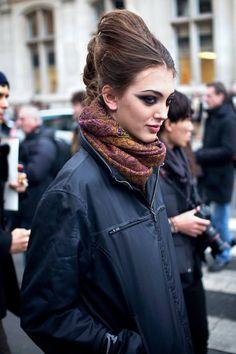 Neus Bermejo - Paris Couture Week SS13 ( Scarves