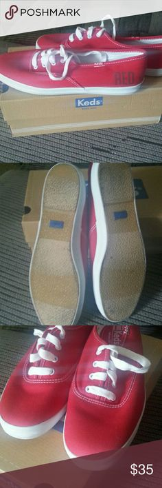 Keds shoes Updated Pics... They have been worn but they are in good condition. Does have a small black mark on the toe. Comes with original box. Taylor Swift keds. Keds Shoes Sneakers