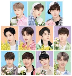 Produce 101, Jinyoung, Ivy Club, Bae, Young Park, Ong Seung Woo, You Are My Life, Guan Lin, Lai Guanlin