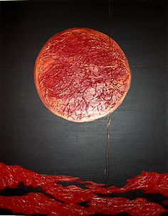 Ralph Hotere: Sun of Righteousness Nz Art, Righteousness, South Pacific, Mixed Media Collage, Conceptual Art, Artist Painting, Ceiling Lights, Artists, Sculpture