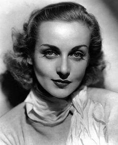 Carole Lombard, c. 1938.