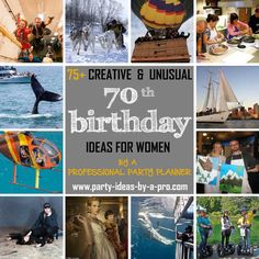 75 Creative 70th Birthday Ideas For Women By A Professional Event Planner
