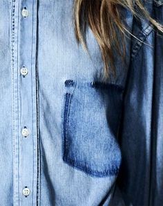 Chambray shades. @thecoveteur