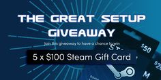 The Great Setup Giveaway