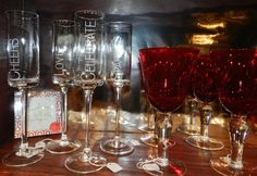 Celebrate beautiful glassware at Market Alley Wines, Monmouth IL