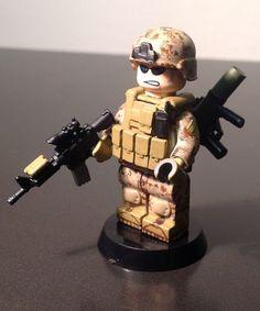 Marine Soldier Custom Minifigure