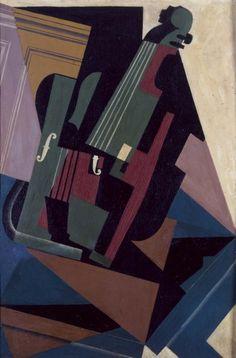 Gris, Juan (José Victoriano González Pérez): Le violon (El violín)