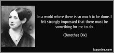 dorothea dix background