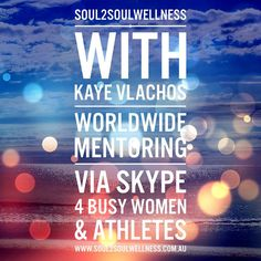 I'm your sporty soul sister & zen mumma inspiring & nurturing you to embrace your gorgeous life with my heart-centred guidance. Mentoring women & athletes worldwide via skype.