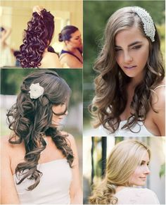 sexy curly wedding hairstyle with cheap brown remy hair extension est curl  Hairstyles for wedding 6306d0820265