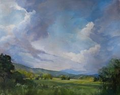 """Susan Bull Riley. """"Camel's Hump from the Richmond Exit off of I89."""" Watercolor. Available at the Green Mountain Watercolor Exhibition, Summer 2014."""