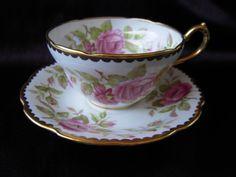 Royal Stuart Teacup Vintage Flower Teacup Spencer by BeckVintage, $16.00