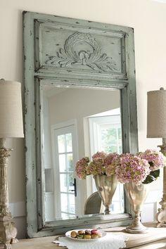 Laurel Trumeau Mirror transitional-mirrors