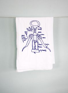 girlscantell — Wine Lovers - floursack tea towels