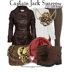 """""""Captain Jack Sparrow"""" by leslieakay on Polyvore"""