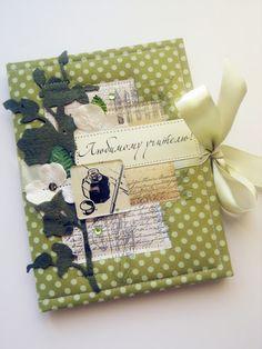 Открытки ♡ Card Making: Папка-поздравление учителю на выпускной.
