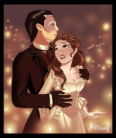 Phantom, Disney Version - not my favorite, but love the art!