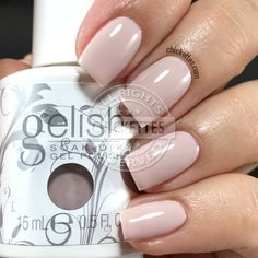 Gelish Prim-rose and Proper Swatch by Chickettes.com