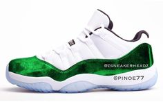 huge selection of fb499 6a4ac An Air Jordan 11 Low Emerald Green Is Rumored To Be Releasing For Easter  2018