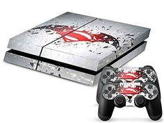CAN Console Designer Protective Vinyl Skin Decal Cover for Sony Playstation 4 & Remote Dualshock 4 Wireless Controller Stickers - Super Man and Batnan Ps4 Console, Playstation 4 Console, Playstation Games, Xbox Games, Desenho New School, Wii, Ps4 Skins, Pokemon, Batman Vs Superman
