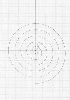 tuto : comment tracer une spirale                                                                                                                                                                                 Plus
