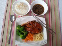 Doina-gatind cu drag: Salmon Teriyaki