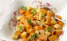 Sweet potato - apple - cinnamon